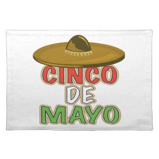 Cinco De Mayo Manteles Individuales