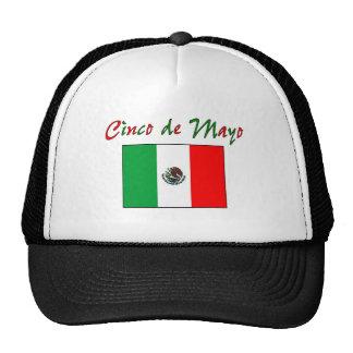 Cinco de Mayo Mexican Flag Shirt & Gifts Trucker Hat