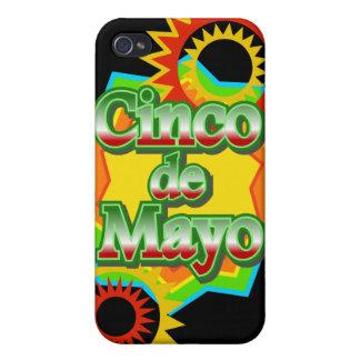 Cinco de Mayo México diseño del 5 de mayo iPhone 4/4S Carcasas