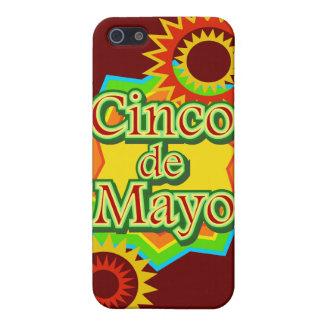 Cinco de Mayo México diseño del 5 de mayo iPhone 5 Funda