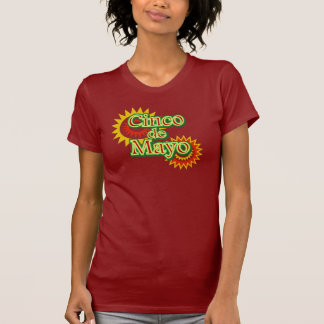 Cinco de Mayo México diseño del 5 de mayo Camisetas