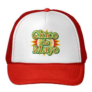 Cinco de Mayo Mexico May 5 Design Trucker Hat