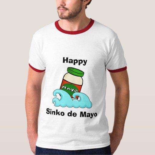 Cinco de Mayo o camiseta divertida de Sinko de