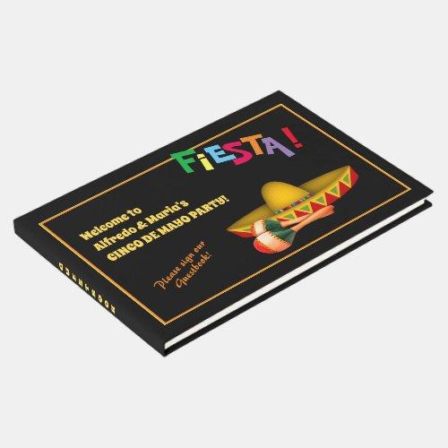 Cinco de Mayo or Mexican Fiesta Guest Book