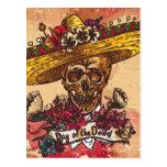 Cinco De Mayo Pattern Postcard