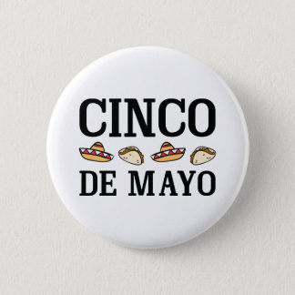 Cinco De Mayo Pinback Button