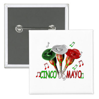Cinco de Mayo Pinback Button