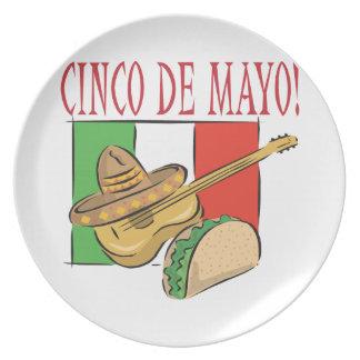 Cinco De Mayo Platos Para Fiestas