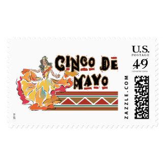 Cinco de Mayo Postage