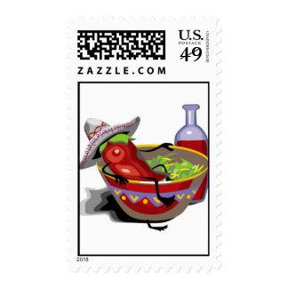 Cinco De Mayo Postage Stamps