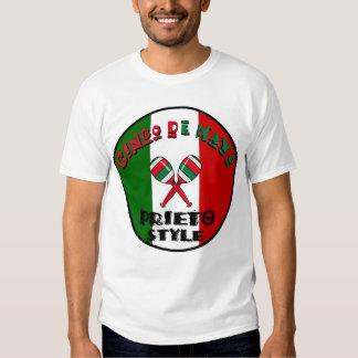 Cinco de Mayo - Prieto Style T-shirts