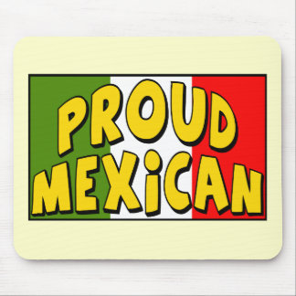 Cinco de Mayo Proud Mexican T-shirts and Gifts Mouse Pad