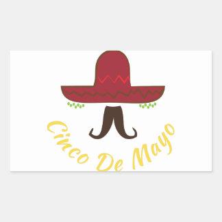 Cinco de Mayo Rectangular Sticker