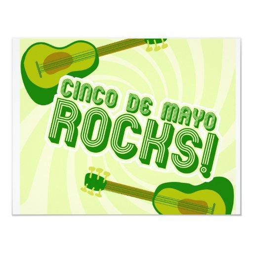 Cinco de Mayo Rocks! Invitations