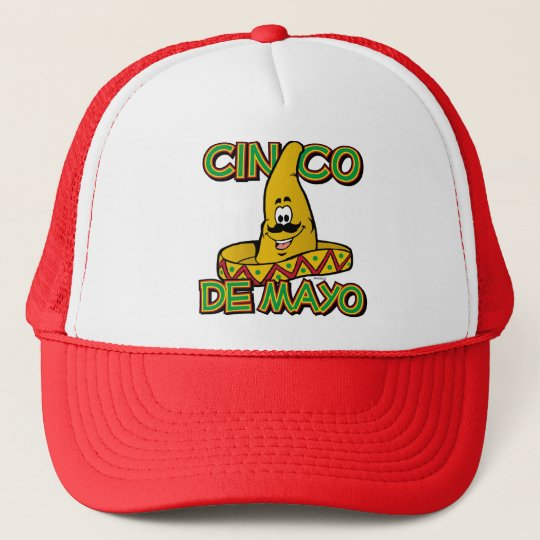 Cinco de Mayo Sombrero Trucker Hat