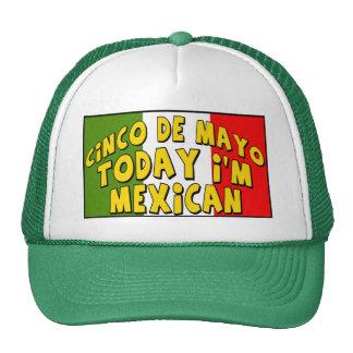Cinco de Mayo soy hoy camisetas y regalos Gorro De Camionero