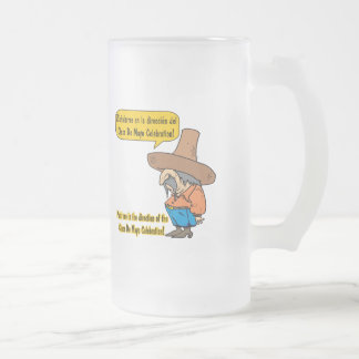 Cinco de Mayo T-shirts and Gifts 16 Oz Frosted Glass Beer Mug