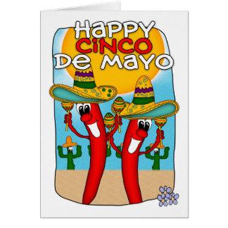 Cinco De Mayo Tarjeta De Felicitación