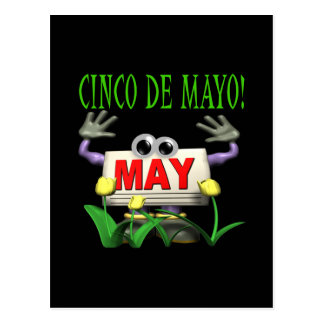 Cinco De Mayo Postal
