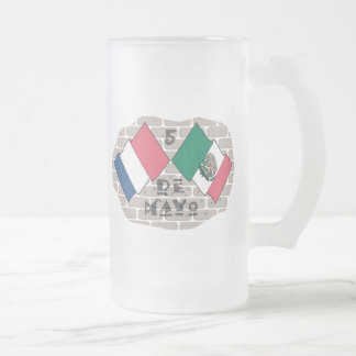 Cinco de Mayo Taza De Cristal