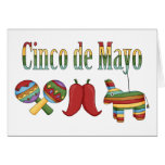 Cinco de Mayo Tees and Gifts for Kids, Adutls Greeting Cards