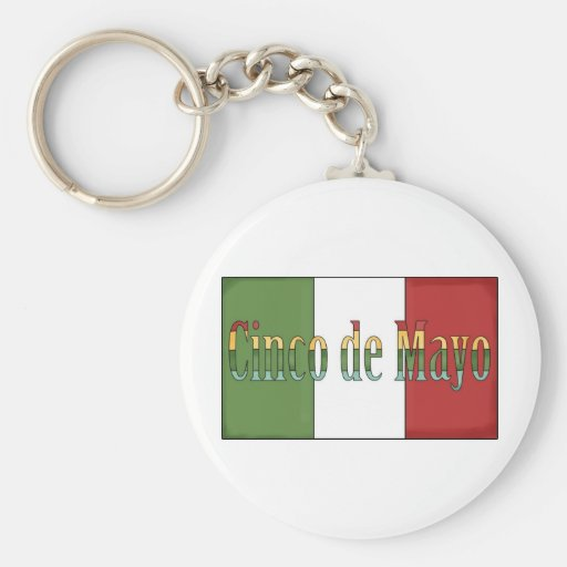 Cinco de Mayo Tees and Gifts for Kids, Adutls Keychains