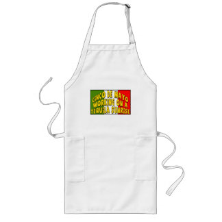 Cinco de Mayo Tequila Sunrise T-shirts and Gifts Long Apron