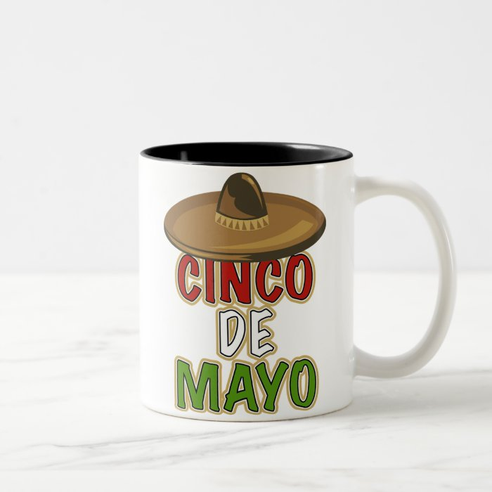 Cinco de Mayo Two-Tone Coffee Mug