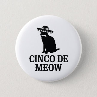 Cinco De Meow Button