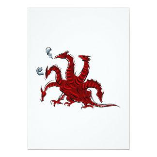 Cinco dirigieron el dragón rojo anuncios