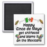 Cinco divertido de Mayo Iman De Nevera