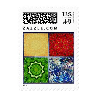 Cinco elementos sellos