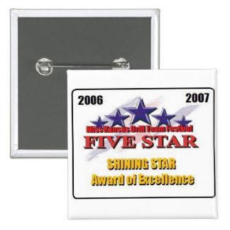 Cinco estrella 2007 pin