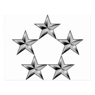 Cinco-estrella-general Postal