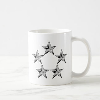 Cinco-estrella-general Taza De Café