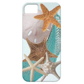 Cinco estrellas de mar de las estrellas funda para iPhone SE/5/5s