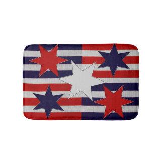 Cinco estrellas y rayas patrióticas