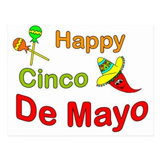 Cinco feliz De Mayo Postales