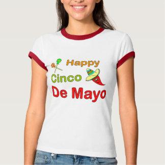 Cinco feliz De Mayo Remeras