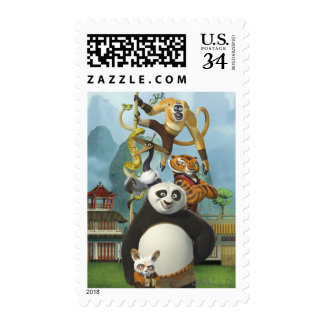 Cinco furiosos que presentan sellos postales