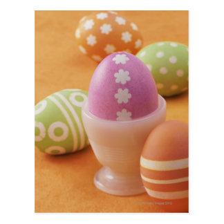 Cinco huevos de Pascua Tarjeta Postal