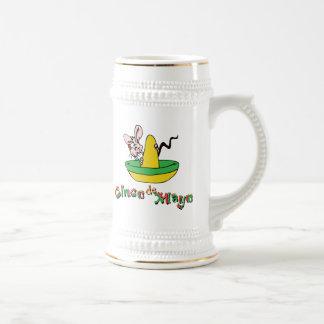 Cinco lindo de Mayo Jarra De Cerveza