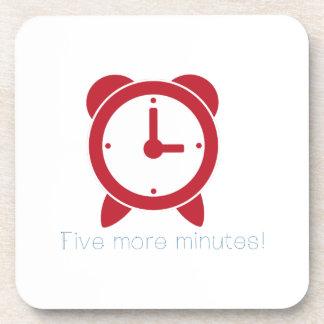 Cinco más minutos posavasos de bebidas