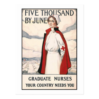 Cinco mil en junio posters de reclutamiento de la  tarjetas postales