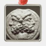 Cinco monedas que representan Jano, Júpiter Adornos