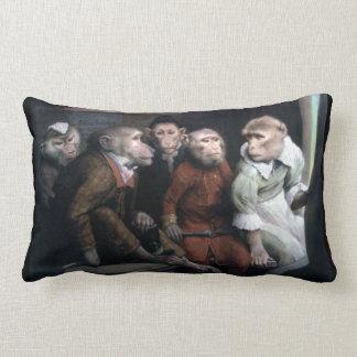 Cinco monos de lujo cojín