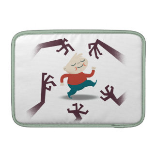 Cinco pequeños zombis y engranaje de Fred Funda Macbook Air