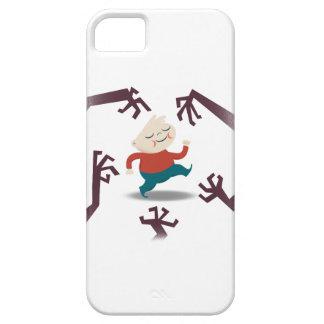 Cinco pequeños zombis y engranaje de Fred Funda Para iPhone SE/5/5s