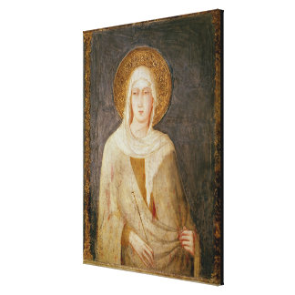 Cinco santos detalle de St Clare Impresiones De Lienzo
