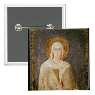 Cinco santos, detalle de St. Clare Pin